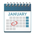 Image of January calendar